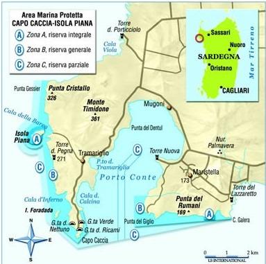 Mappa Km Sardegna.Capo Caccia Sardegna E Le Grotte Di Nettuno Tripinworld