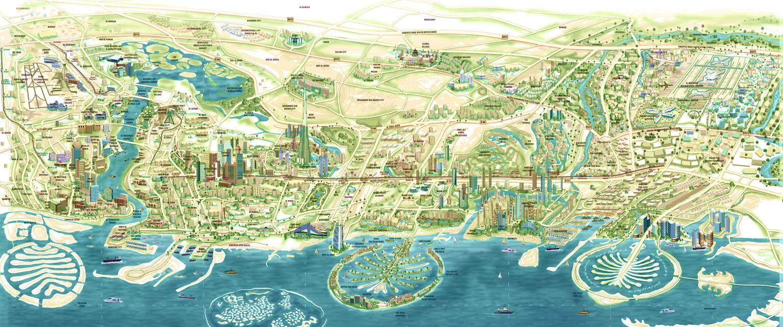 Cartina Turistica Dubai.Viaggio A Dubai Negli Emirati Arabi Uniti Tripinworld